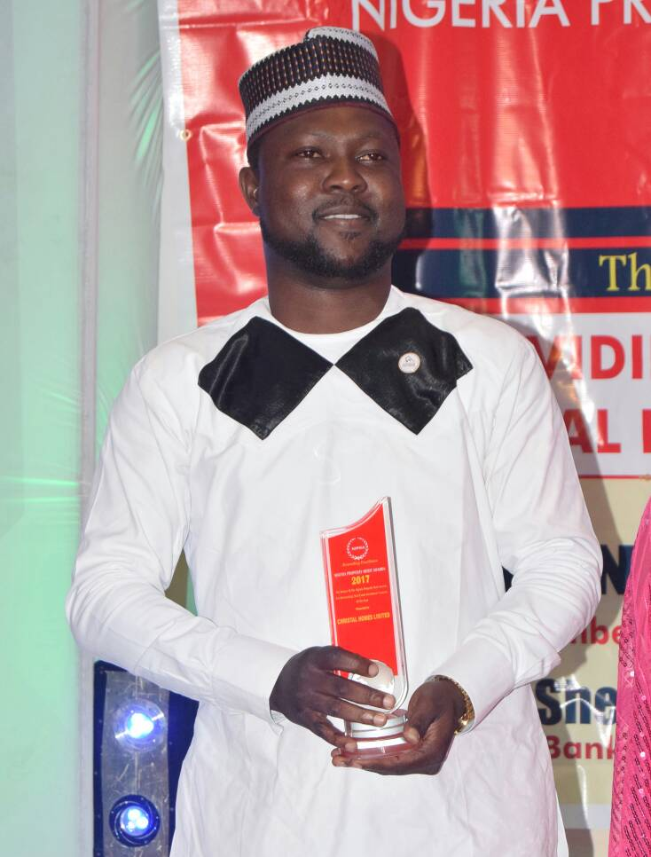 Christal Homes wins Most Outstanding Real Estate Investment Company of the Year Award