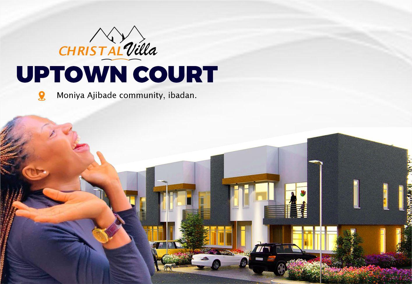 Christal Villa — Uptown Court 3 Bedroom Terrace