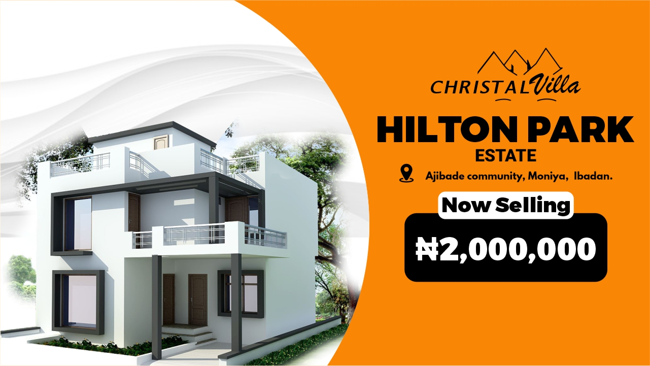 CHRISTAL VILLA – HILTON PARK ESTATE
